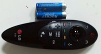 Genuine LG AN-MR500G Magic Motion Remote Control AN-MR500 For 2014 Smart TV with batteries